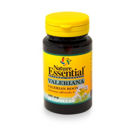 VALERIANA 400mg 50cap NATURE ESSENTIAL Plantas Medicinales 4,14€