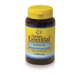 ACEITE HIGADO DE BACALAO 1000mg 30perl NATURE ESSENTIAL Suplementos nutricionales 4,49€