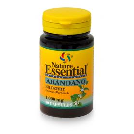 ARANDANO 1000mg 50cap NATURE ESSENTIAL Plantas Medicinales 4,58€