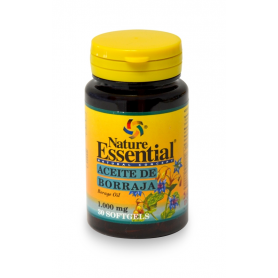 BORRAJA 1000mg 30perl NATURE ESSENTIAL Plantas Medicinales 5,09 €