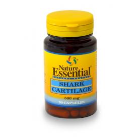 CARTILAGO DE TIBURON 500 mg 50cap NATURE ESSENTIAL Suplementos nutricionales 6,57€
