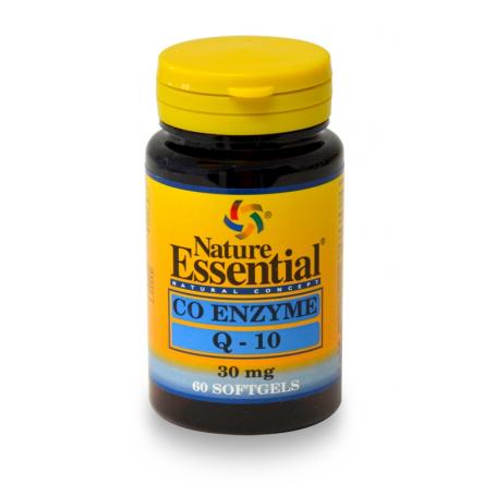 COENZIMA Q10 30mg 60perl NATURE ESSENTIAL Suplementos nutricionales 10,81€