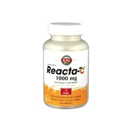 REACTA-C 1000mg 60comp KAL Suplementos nutricionales 21,37€
