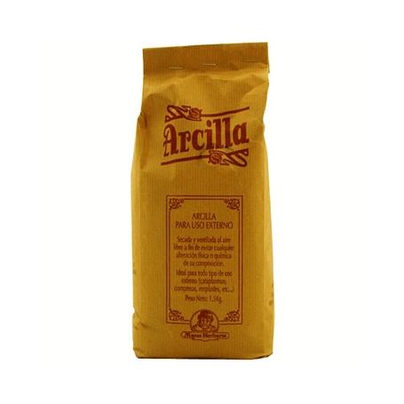 ARCILLA BLANCA 1,5kg MAESE HERBARIO Cosmética e higiene natural 12,12€