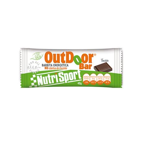 BAR. ENERG OUTDOOR CHOCO S/COB 20ud NUTRI SPORT Nutrición Deportiva 26,18€