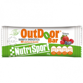 BAR. ENERG OUTDOOR RED BERRIES 20ud NUTRI SPORT Nutrición Deportiva 26,18 €