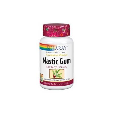 MASTIC GUM 500mg 45cap SOLARAY Suplementos nutricionales 32,06€
