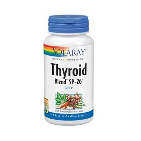 THYROID BLEND 100cap SOLARAY Suplementos nutricionales 13,36 €