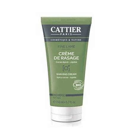 CREMA AFEITAR 150ml CATTIER Cosmética e higiene natural 11,15 €