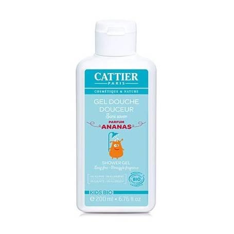 GEL DE DUCHA SUAVE INFANTIL 200ml CATTIER Cosmética e higiene natural 10,95€