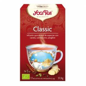 CLASSIC Infusión BIO 17ud YOGI TEA Plantas Medicinales 3,33€