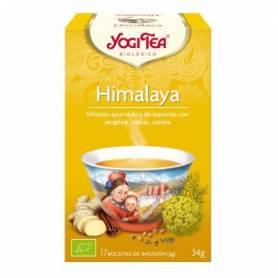 HIMALAYA Infusión BIO 17ud YOGI TEA Plantas Medicinales 3,33€
