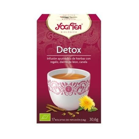 DETOX Infusión BIO 17ud YOGI TEA