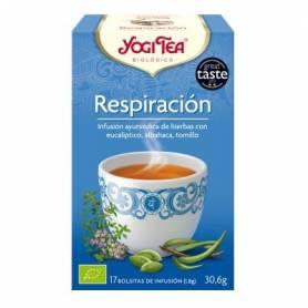 RESPIRACION Infusión BIO 17ud YOGI TEA Plantas Medicinales 3,33€