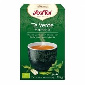 TE VERDE HARMONIA Infusión BIO 17ud YOGI TEA Plantas Medicinales 3,35€