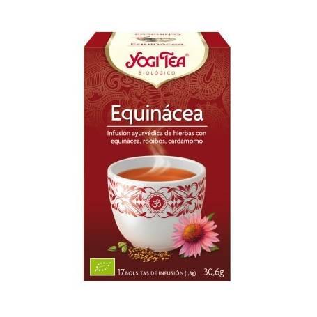 EQUINACEA Infusión BIO 17ud YOGI TEA Plantas Medicinales 3,33€