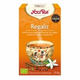 REGALIZ Infusión BIO 17ud YOGI TEA Plantas Medicinales 3,33€