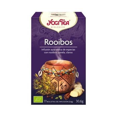 ROOIBOS Infusión BIO 17ud YOGI TEA Plantas Medicinales 3,33€