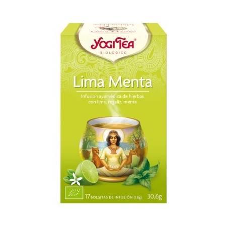 LIMA MENTA Infusión BIO 17ud YOGI TEA Plantas Medicinales 3,33€