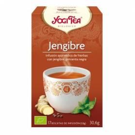 JENGIBRE Infusión BIO 17ud YOGI TEA Plantas Medicinales 3,33€