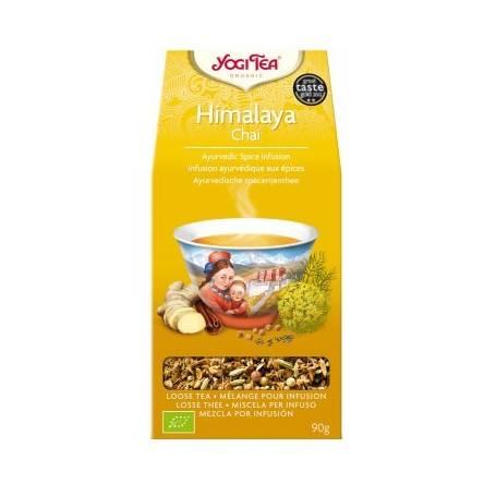 HIMALAYA CHAI Infusión BIO 90gr YOGI TEA Plantas Medicinales 4,18€
