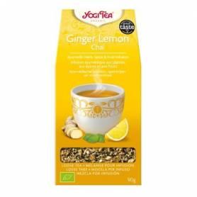GINGER LEMON CHAI Infusión BIO 90gr YOGI TEA Plantas Medicinales 4,18€