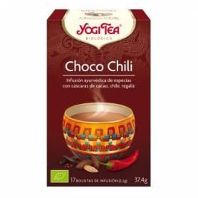 CHOCO CHILI Infusión BIO 17ud YOGI TEA Plantas Medicinales 3,33€