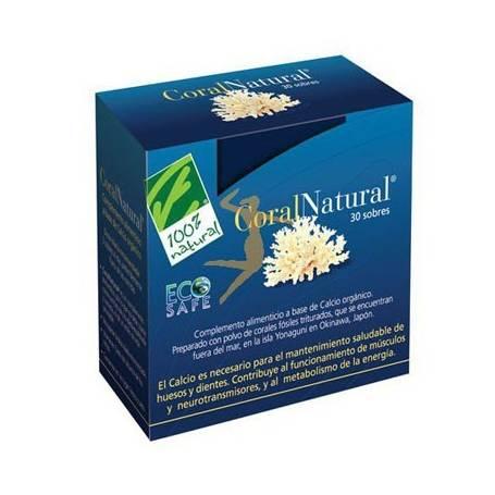 CORAL NATURAL 30sb CIEN POR CIEN NATURAL Suplementos nutricionales 30,02€