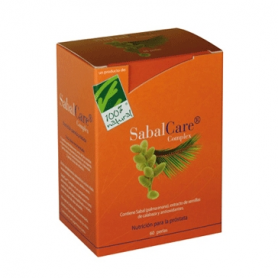 SABAL CARE 60perl CIEN POR CIEN NATURAL Suplementos nutricionales 33,99€