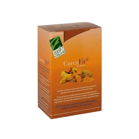 CURCUFIT 60cap CIEN POR CIEN NATURAL Suplementos nutricionales 33,65€