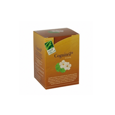 COGNITRIL 60cap CIEN POR CIEN NATURAL Plantas Medicinales 52,60€