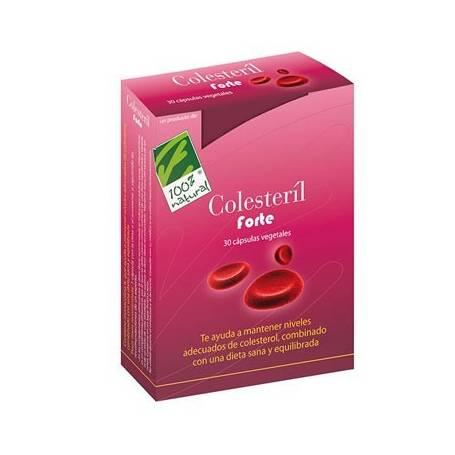 COLESTERIL FORTE 30cap CIEN POR CIEN NATURAL Suplementos nutricionales 17,77€