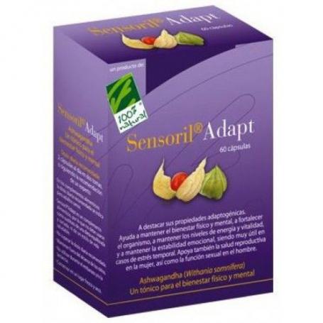 SENSORIL ADAPT 60cap CIEN POR CIEN NATURAL Suplementos nutricionales 21,81€