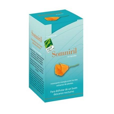 SOMNIRIL 30cap CIEN POR CIEN NATURAL Suplementos nutricionales 18,17€