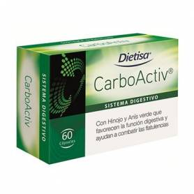 CARBOACTIV 60cap DIETISA Plantas Medicinales 11,56€