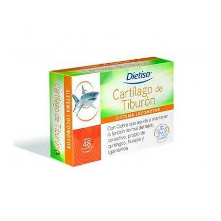 CARTILAGO DE TIBURON 48comp DIETISA Suplementos nutricionales 14,27€