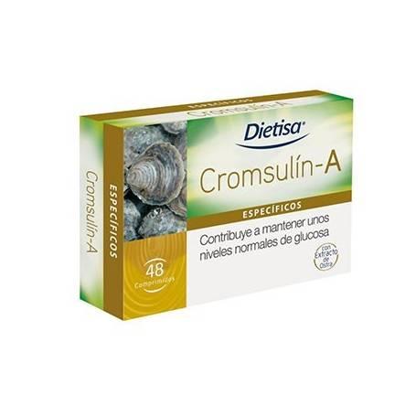CROMSULIN-A 48comp DIETISA Plantas Medicinales 20,37€