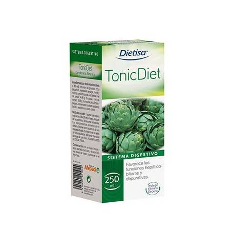 TONIC DIET JARABE 250ml DIETISA Suplementos nutricionales 8,20€