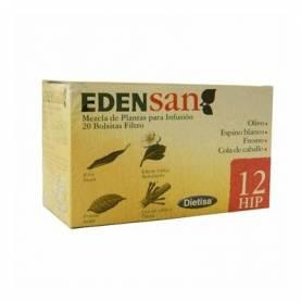 EDENSAN 12 HIP Infusión 20ud DIETISA Plantas Medicinales 3,95€