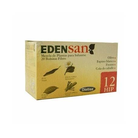 EDENSAN 12 HIP Infusión 20ud DIETISA Plantas Medicinales 3,93€