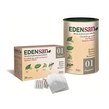 EDENSAN 01 HEPATICO Infusión 20ud DIETISA Plantas Medicinales 3,93€