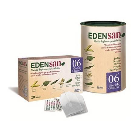 EDENSAN 06 NIVEL DE GLUCOSA Infusión 20ud DIETISA Plantas Medicinales 3,51€