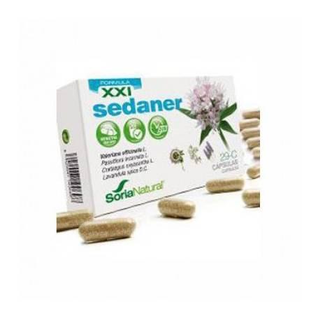 29-C SEDANER Fórmula XXI 30cap SORIA NATURAL Suplementos nutricionales 10,17€