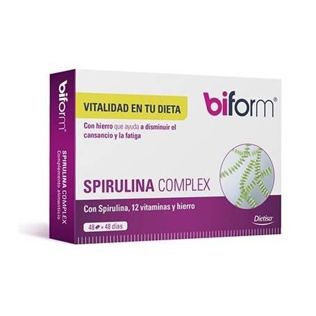 BIFORM SPIRULINA COMPLEX 48comp DIETISA Plantas Medicinales 9,69€