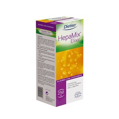 HEPAMIX JARABE 250ml DIETISA Suplementos nutricionales 17,25€