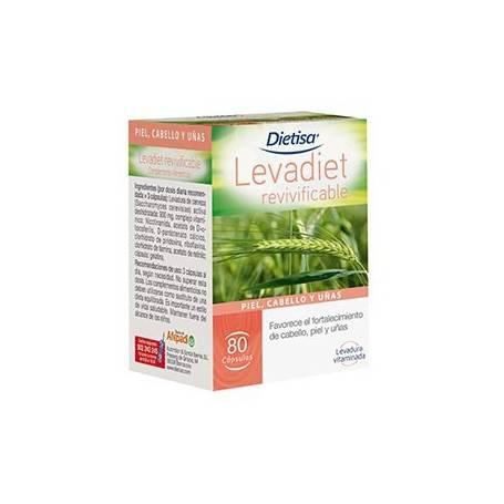 LEVADIET REVIVIFICABLE 80cap DIETISA Plantas Medicinales 9,00€