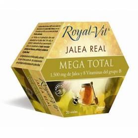 JALEA REAL MEGA TOTAL 20amp DIETISA Suplementos nutricionales 23,39€