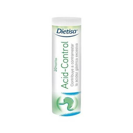 ACID-CONTROL 20comp DIETISA Suplementos nutricionales 6,77€