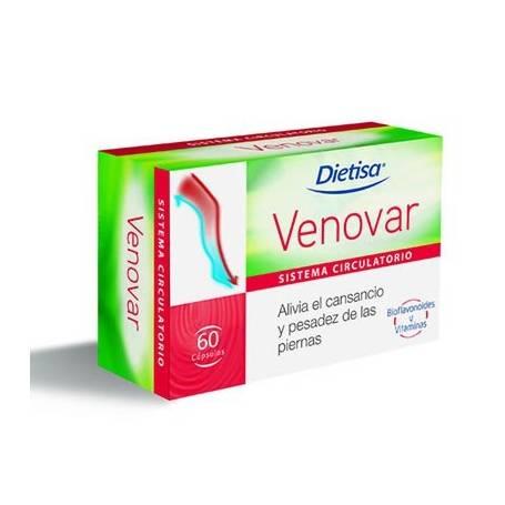 VENOVAR 60cap DIETISA Plantas Medicinales 21,65€