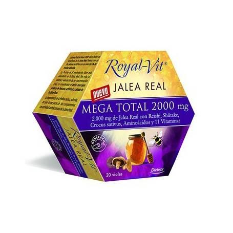 JALEA RAL MEGA TOTAL 2000MG 20amp DIETISA Suplementos nutricionales 23,39€